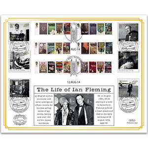 2014 Life of Ian Fleming Benham 100 Cover