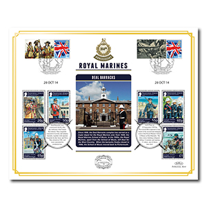 2014 Royal Marines 350th Anniversary Benham 100 Cover