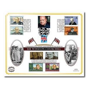 2015 Death of Winston Churchill 50th Benham 100 Cover