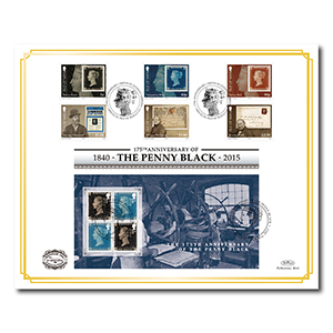 2015 175th Anniversary of the Penny Black Benham 100 Cover