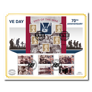 2015 70th Anniversary of V.E Day & Liberation of the Channel Islands Benham 100 Cover