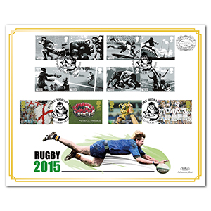 2015 Rugby World Cup Benham 100 Cover