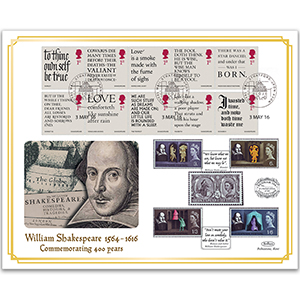 2016 Shakespeare Benham 100 Cover - Stratford-upon-Avon