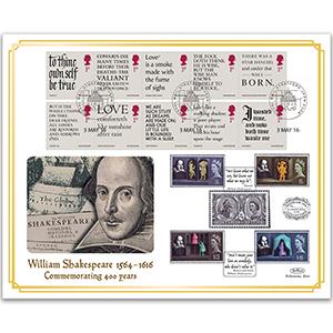 2016 Shakespeare Benham 100 Cover - Stratford-upon-Avon