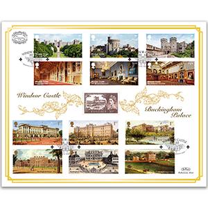 2017 Windsor Castle / Buckingham Palace Benham 100 Cover