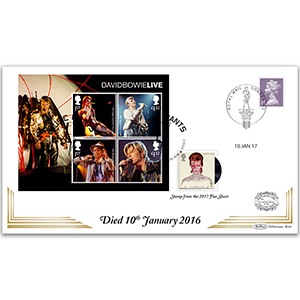 2017 David Bowie - Anniversary of Death Benham 100 Cover