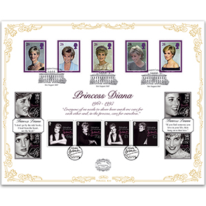 2017 Princess Diana 20th Anniversary - 'Benham 100' Cover
