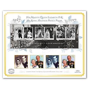 2017 Platinum Wedding - 'Benham 100' Cover