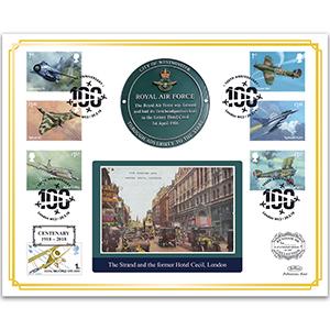 2018 RAF Centenary 'Benham 100' Cover