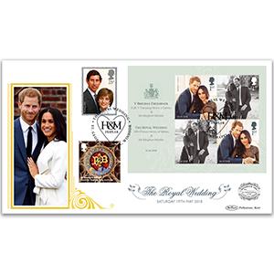 2018 Royal Wedding M/S 'Benham 100' Cover