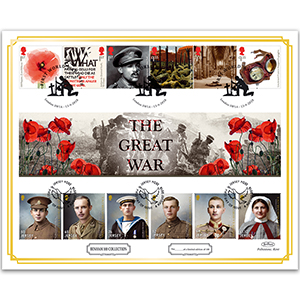 2018 WWI 'Benham 100' Cover