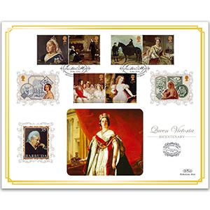 2019 Queen Victoria 'Benham 100' Cover