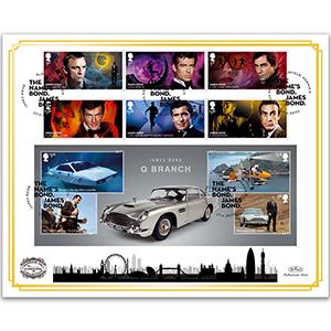 2020 James Bond 'Benham 100' Cover