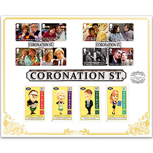 2020 Coronation Street Stamps 'Benham 100' Cover