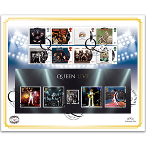 2020 Queen Music Giants IV Benham 100 Cover