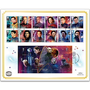 Star Trek Benham 100s Cover
