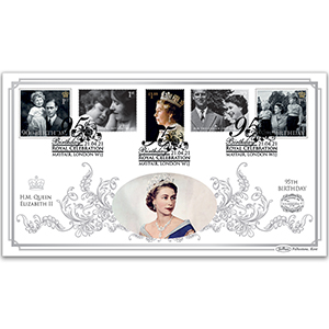 2021 HM The Queen's 95th Benham 100s Cover