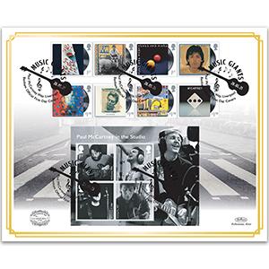 2021 Paul McCartney Music Giants Benham 100s Cover