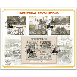 2021 Industrial Revolutions Benham 100s Cover