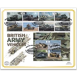 2021 British Army Vehicles Benham 100s Cover