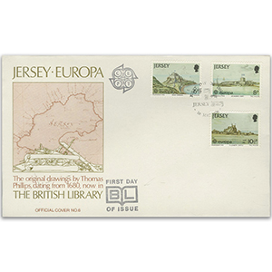1978 Jersey Europa British Library Cover