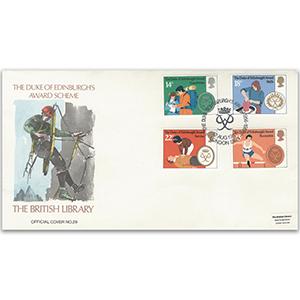 1981 Duke of Edinburgh Award 25th British Library Cover - Signed by Leonard Marsh