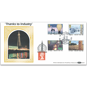 1986 Industry Year BLCS - Blackpool Tower - Doubled 2001