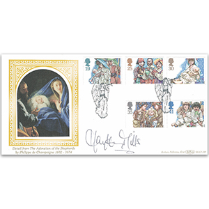 1994 Christmas BLCS - Signed by Hayley Mills
