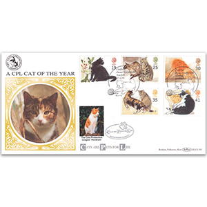 1995 Cats BLCS - Cats Protection League Cover