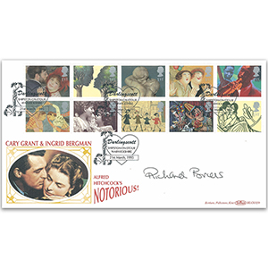 1995 Greetings BLCS - Signed Richard Briers