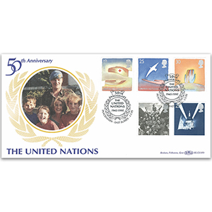 1995 Europa: Peace and Freedom BLCS - UN 50th Anniversary