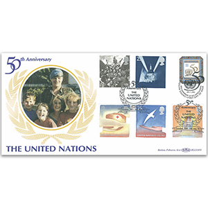 1995 Europa: Peace and Freedom BLCS - UN 50th - Doubled