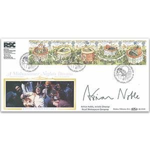 1995 Shakespeare's Globe Theatre BLCS - Signed Adrian Noble