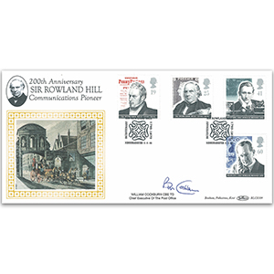 1995 Communications - Sir Rowland Hill BLCS - Signed by Bob Cockburn