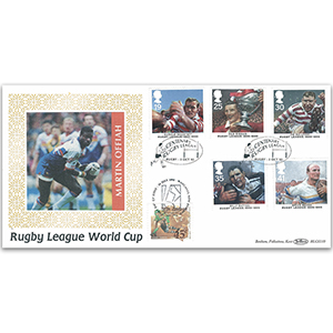 1995 Rugby League Centenary BLCS - Doubled New Zealand