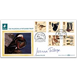 1996 Wildfowl & Wetland Trust BLCS - Signed Joanna Trollope