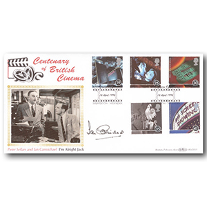 1996 Cinema Centenary BLCS - Signed by Ian Carmichael