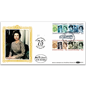 1986 Queen's 60th Birthday BLCS - Doubled 2001