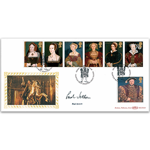 1997 Henry VIII 450th - Signed Paul Jesson