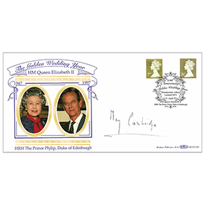 1997 Golden Wedding Year - Signed by Lady May Cambridge