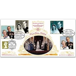 1997 Royal Golden Wedding Anniversary BLCS - Doubled Windsor
