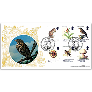 1998 Endangered Species BLCS - Song Thrush