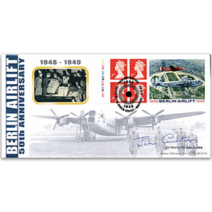 1998 Berlin Airlift 50th BLCS - Signed by Air Marshal Sir John Curtiss