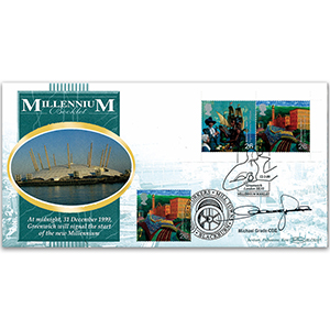 1999 Millennium Booklet - Settlers' Tale BLCS - Doubled - Signed by Michael Grade CBE