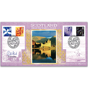 1999 Scotland First Pictorial Definitives - Signed by Sir David Steel