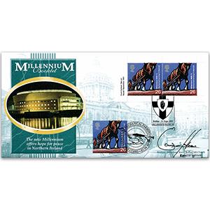 1999 Millennium Booklet - Signed Eamonn Holmes