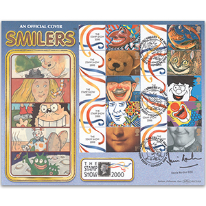 2000 Smilers Sheet BLCS - Signed by Denis Norden CBE