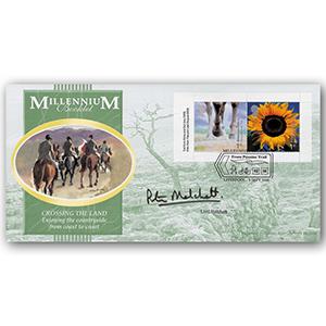 2000 Millennium Bklt 2 x 1st Signed Melchett