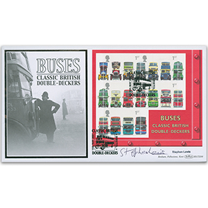 2001 Double Decker Bus 150th BLCS 5000 - Signed by Stephen Lewis