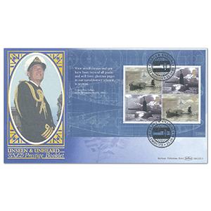 2001 Unseen & Unheard PSB BLCS - 2 x 2nd/2 x 45p Pane - Plymouth